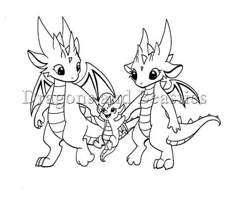 family  dragonsbeasties dragon drawing dragon family