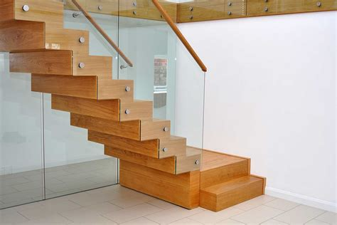 wood stair design interior modern stairs designs with wooden treads and