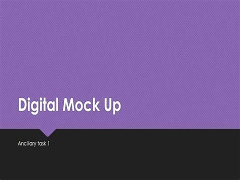 Digital Mock Up Authorstream Digital Mock Up Templates