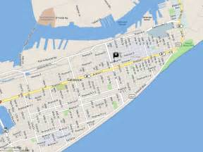 galveston on map maps update 1100544 galveston tourist map galveston