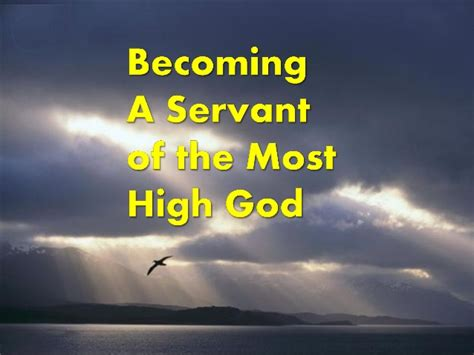 that is you becoming a after god s own semester books becoming a servant of the most high god
