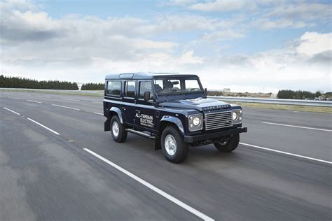 land rover electric land rover to showcase electric defender in geneva