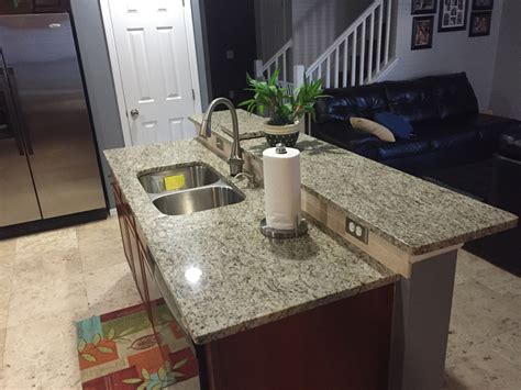 giallo ornamental granite with backsplash giallo ornamental granite countertops in kitchen with