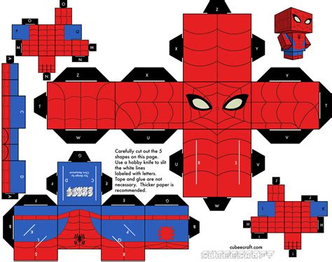 Papercraft Pattern - cubeecraft on paper toys papercraft and