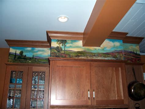 How To Build A Soffit Above Kitchen Cabinets Carlosca01 Five Interesting Kitchen Soffit Makeovers