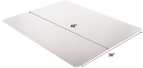 Thick Chair Mat by High Pile Carpet 25 Quot Thick Chair Mats 36 Quot X48 Quot See More