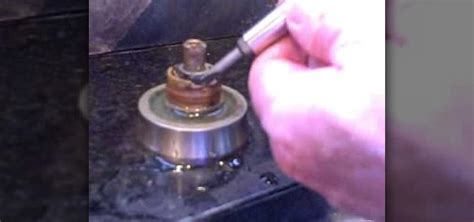 how to remove an old kitchen faucet how to fix a faucet leaking from around the handle