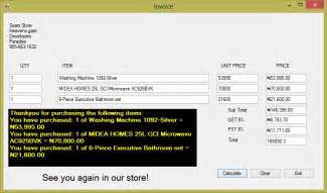 design pattern validation invoice item price calculator welcome to john sokpo