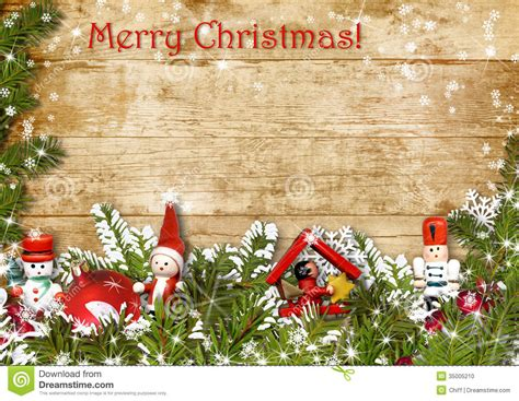 christmas background  border  fir branches stock photo image
