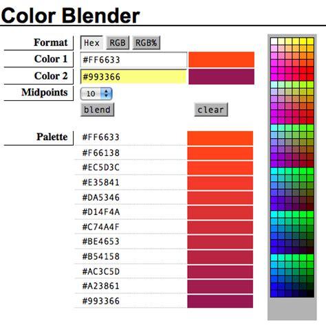 color blender color blender tout en nuance narcissique