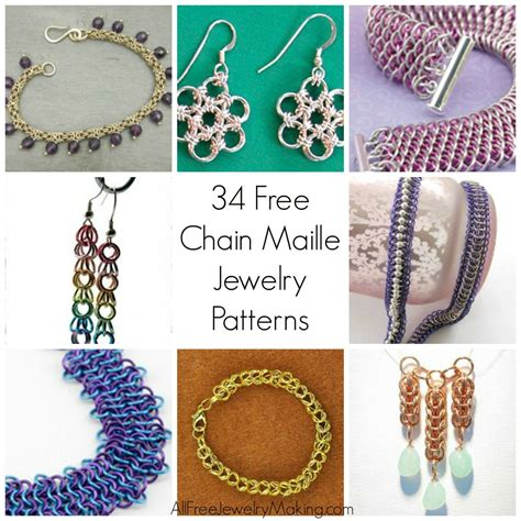 beaded chainmaille jewelry patterns 47 free chain maille jewelry patterns