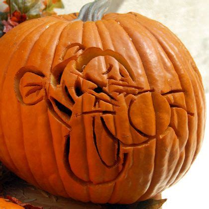 winnie the pooh pumpkin carving templates tigger pumpkin carving template this is