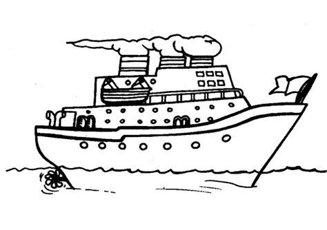Dibujos Infantiles Para Colorear De Barcos | dibujos de barcos para colorear y pintar 174 im 225 genes infantiles