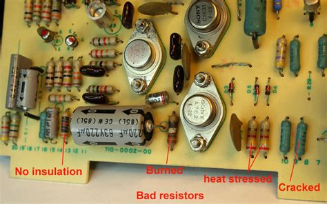 resistors going bad what makes a resistor go bad 28 images how to audio capacitors electronicsforyou info