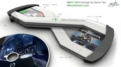 design for x concept xbox 2 quot x quot concept by kevin tan