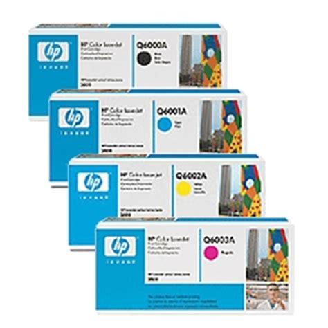 Toner Cartridge Remanufactured Q6000a K Q6001a C Q6002a Y Q6003a hp q6000a q6001a q6002a q6003a cmyk 124a toner end 1