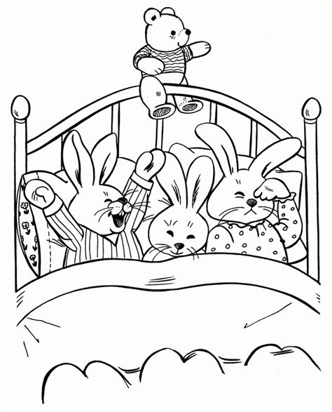 Bedtime Coloring Pages Bedtime Coloring Pages Coloring Home