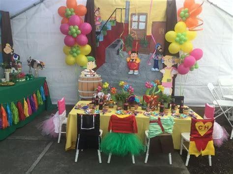 el chavo ocho dessert table childrens