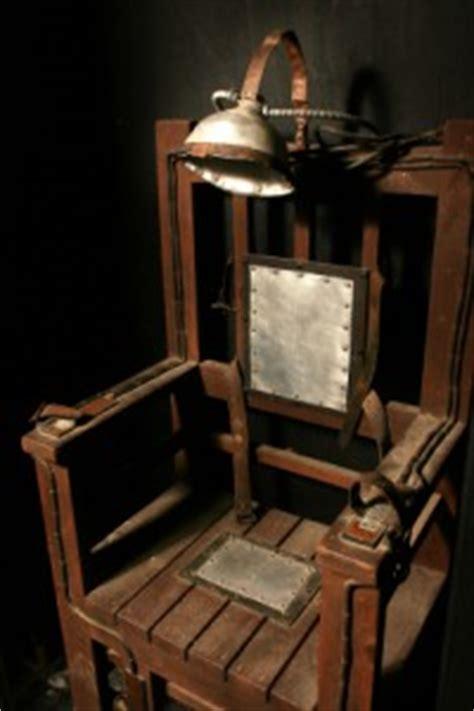 todesstrafe elektrischer stuhl gruselfabrik de der horror 187 archiv