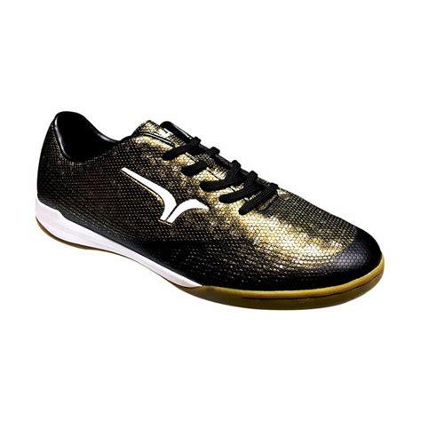 Harga Sepatu Gold jual calci conquest sepatu futsal gold black