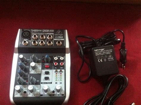 Behringer Xenyx Q502usb xenyx q502usb behringer xenyx q502usb audiofanzine