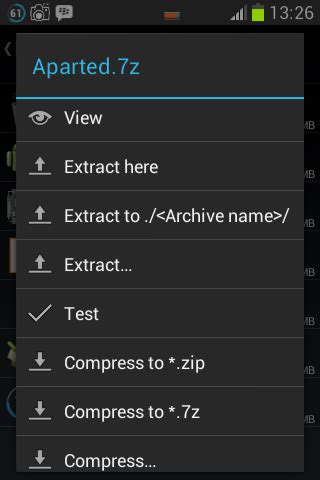 aparted apk zarchiver aplikasi compress dan decompress file terbaik graphic design by tara free