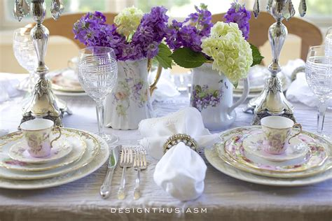 how to set a table with china how to set a beautiful table with vintage china