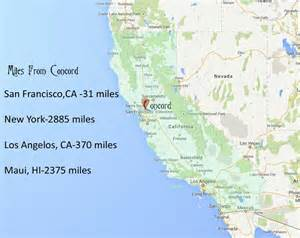 map of concord california concord ca map concord california