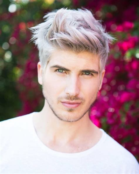 images of hair bleached white 80 stunning bleached hair for men how to care at home