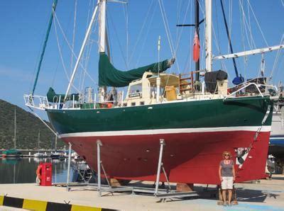 sailboat joshua joshua 40 petronella a centre cockpit steel ketch