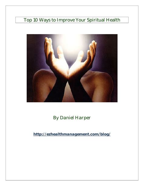 101 ways to health and healing ebook top 10 ways to improve your spiritual health
