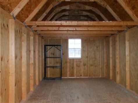 backyard storage building barn style sheds  loft