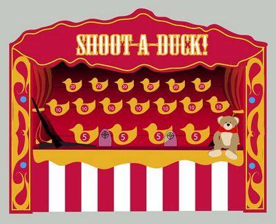 Duck Shoot Brings The Experience Of The Carnival To Your Home by Carnival Background Shooting Range Make Out Of Decoy