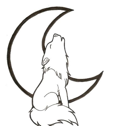 Get This Free Printable Wolf Howling Coloring Pages 57821 Pictures To Print