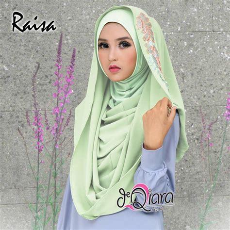 Jual Hijabjilbab Instant Raisa A1032 jilbab deeja pop raisa by d qiara jilbabbranded