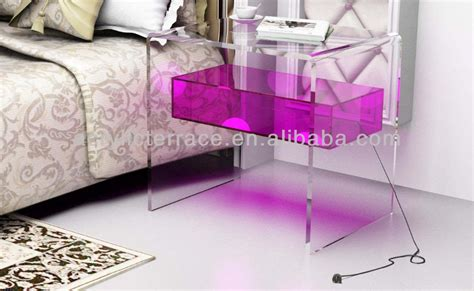 Cube Side Tables Living Room Perspex Led Cube Table Lucite Side Tables View