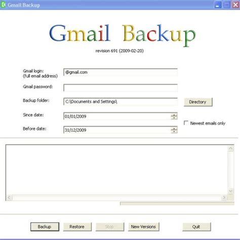 gmail backup pensez 224 sauvegarder vos mails internet blog iconet fr