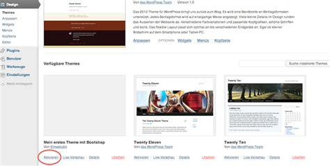 bootstrap themes mit ein wordpress theme mit bootstrap entwickeln ein
