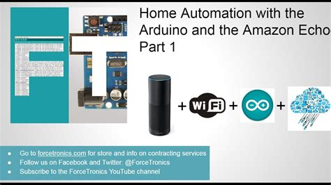 home automation with the arduino and the echo part