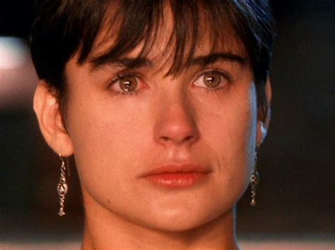 demi moore haircut in ghost the movie demi moore ghost love those earrings famous people