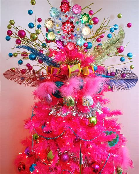 some like it hot pink christmas tree treetopia