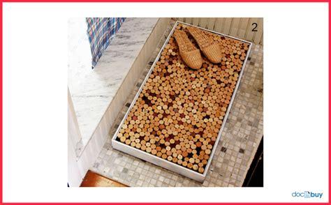 tappeto con tappi di sughero tappi di sughero come riciclarli guide fai da te utili e