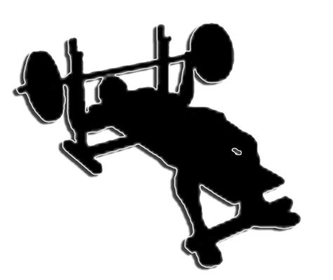 bench press picture bench press clipart