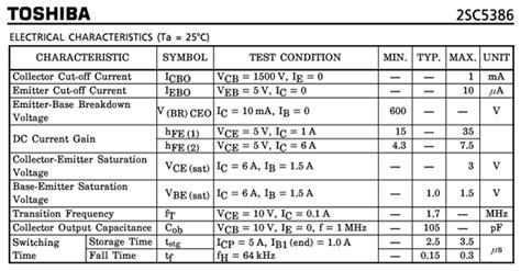 transistor c5386 datasheet toshiba c5386 hoja de datos datasheetbank