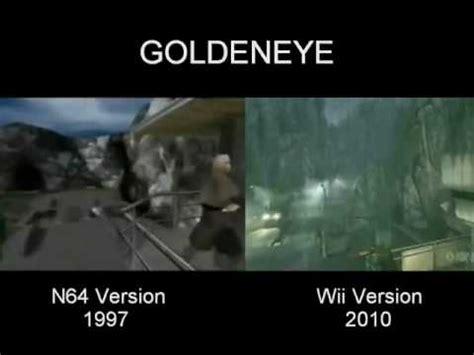 Goldeneye Meme - goldeneye 007 wii updates 3 e3 vs n64 comparison