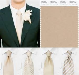 what color tie for wedding inspiration for chagne bows n ties