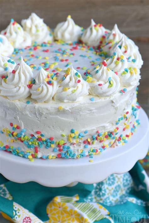 cake vanilla vanilla cake on timeout