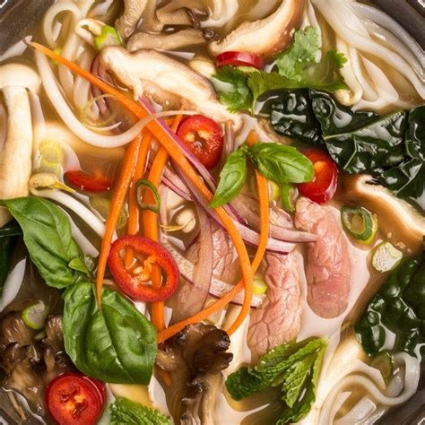 Detoxing With Beef Knuckle Soup by Detox Pho With Beef Mushrooms And Kale Recipe