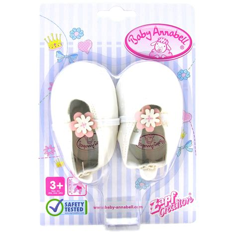 annabelle doll accessories baby annabell shoes doll s accessory ebay