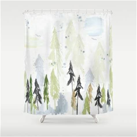 Woodland Shower Curtain by Shop Woodland Curtains On Wanelo